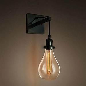 Lampe Chevet Murale : purelume lustre style industriel tearbulb applique murale ~ Premium-room.com Idées de Décoration