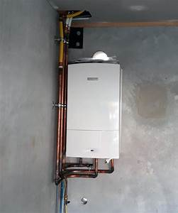 Combination Boiler And Domestic Hot Water Boiler Diagram 2  Furnace Water Heater Combo