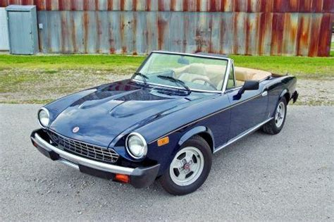 Fiat Spider Parts by Fiat Lancia Pininfarina Parts My 1979 Fiat Spider 2000