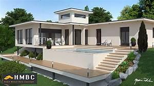 constructeur maison contemporaine et moderne design en With plan maison avec tour 1 maison contemporaine rhane alpes photos maison