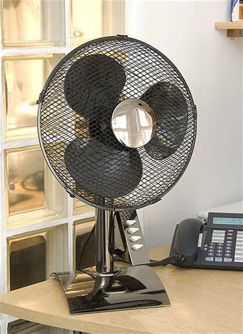desk fan  speed black