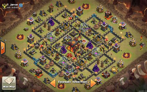3 th10 layouts with 2 best clash of clans th10 unlurable cc war trophy base 3 th