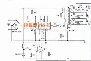 Multiple Output Switch Regulators Voltage Power Supply