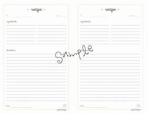 images of binder size recipe template golfclub