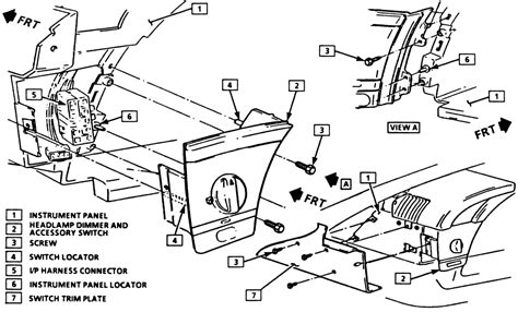Repair Guides Instruments Switches Headlight