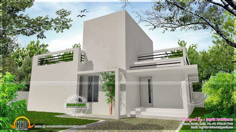 modern small house april 2014 kerala home design and floor plans