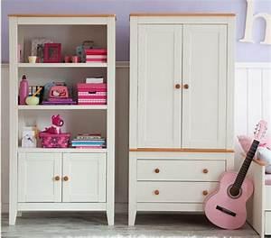 Armoire Chambre Enfant : armoire de chambre fille magnolia armoire 2 portes discount mobilier pas cher ~ Teatrodelosmanantiales.com Idées de Décoration