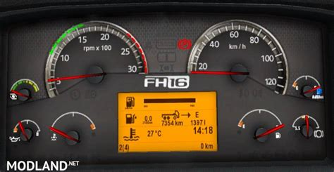 volvo fh  classic dashboard computer mod  ets