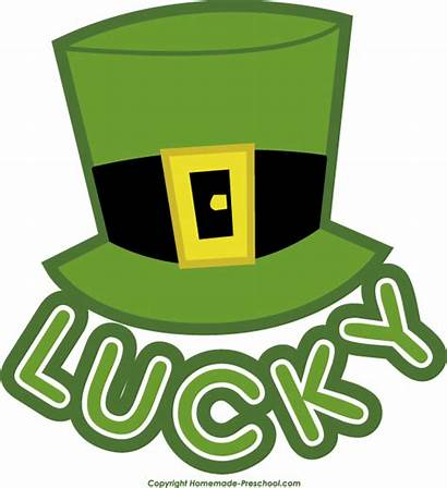 Clipart Lucky Leprechaun Irish Hat Clip Cliparts