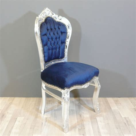 chaises baroque baroque blue chair chairs baroque