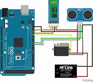 Arduino Radar System Using Processing Android App And