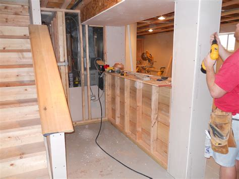 How To Build A Simple Bar In Your Basement  Home Bar Design