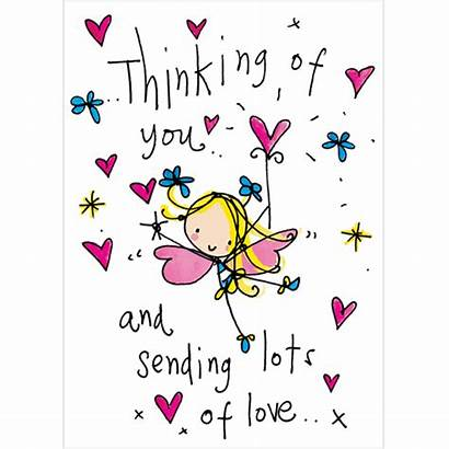 Sending Thinking Lots Cards Quotes Hug Birthday