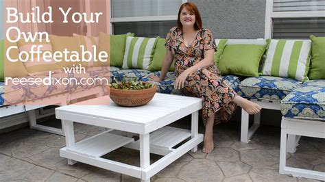 how to build an outdoor side table build a diy outdoor coffeetable youtube