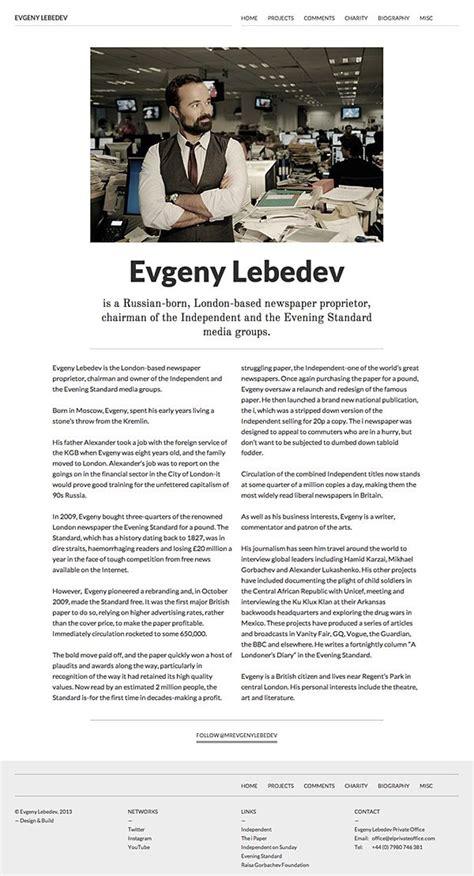 Evgeny Lebedev on Web Design Served   Web design, Design ...