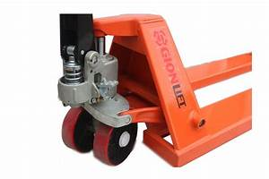 Short Narrow Manual Pallet Jack 5500 Lbs Capacity 36 U0026quot L X