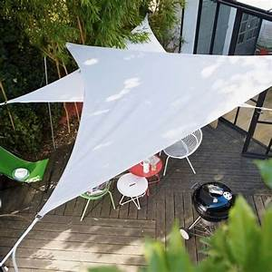 Voile Pour Terrasse : les voiles d 39 ombrage mettent un coup de vieux aux ~ Premium-room.com Idées de Décoration