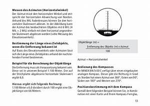 Azimut Berechnen Formel : instructions minox bn 7x50 optics trade ~ Themetempest.com Abrechnung