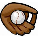 Baseball Glove Cartoon Clipart Clip Mitt Icon