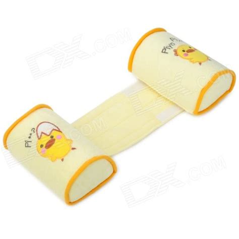 baby anti roll pillow sleep positioner baby anti roll sleep positioner cotton pillow yellow
