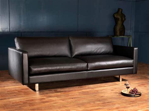 canapé en cuir métropole canapé cuir design et haut de gamme canapé