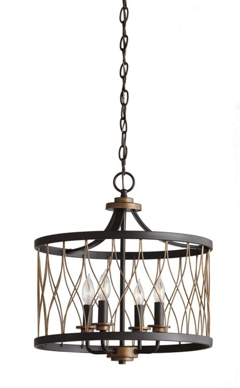 Light Fixtures Home Depot Canada by Home Decorators Collection Hdc 4 Light Orb Gold Pendant