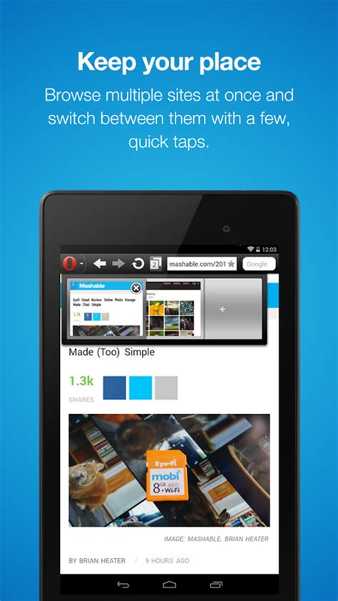 opera mini fast web browser apk free android app