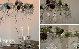 Deko Ast Zum Aufhängen : diy weihnachtlicher deko zweig deko kitchen blumendeko ~ Michelbontemps.com Haus und Dekorationen