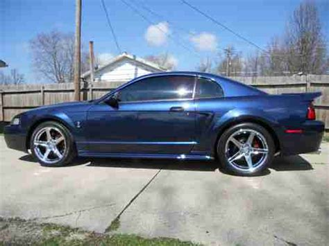 2001 ford mustang coupe purchase used 2001 ford mustang svt cobra coupe true blue