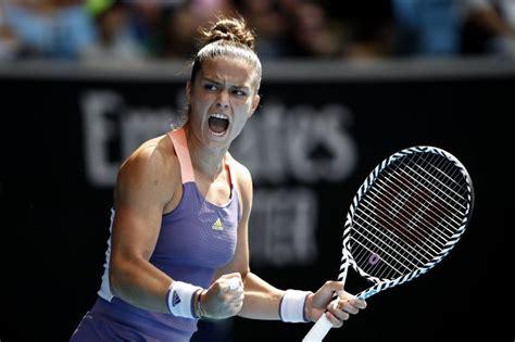 WTA Abu Dhabi: Maria Sakkari's AMAZING net skills - Tennis ...