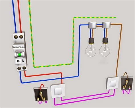 schema electrique sch 233 ma de cablage 233 lectrique va et vient deux les