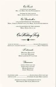 wedding reception order of service orthodox wedding program exle wedding directories order of service church directories
