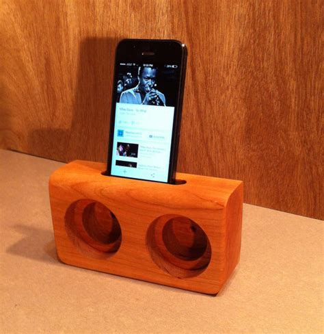 wooden iphone speaker wooden iphone speakers