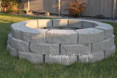 How To Build A Diy Fire Pit For Only  Kitchen Vent Hood Designs Small Cabinet Design Boulder Ikea Designer Uk Table L Shaped Tiny Photo Gallery Best