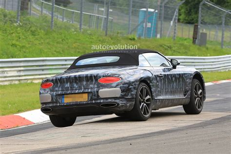Spyshots 2019 Bentley Continental Gtc Shows Cool Camo At