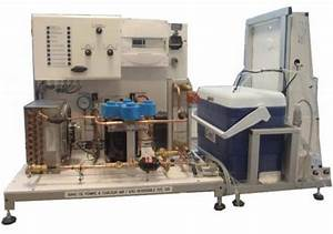 Pompe A Chaleur Reversible Air Air : ste 130 banc de pompe a chaleur air eau reversible automatisee refrigeration energetique ~ Farleysfitness.com Idées de Décoration