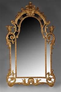 Miroir Doré Ancien : architecture int rieure glaces miroirs et trumeaux ~ Teatrodelosmanantiales.com Idées de Décoration