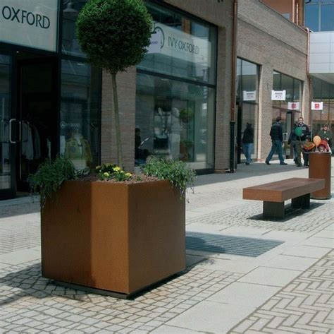 Dahlia Planter, Metalco  Artform Urban Furniture Esi
