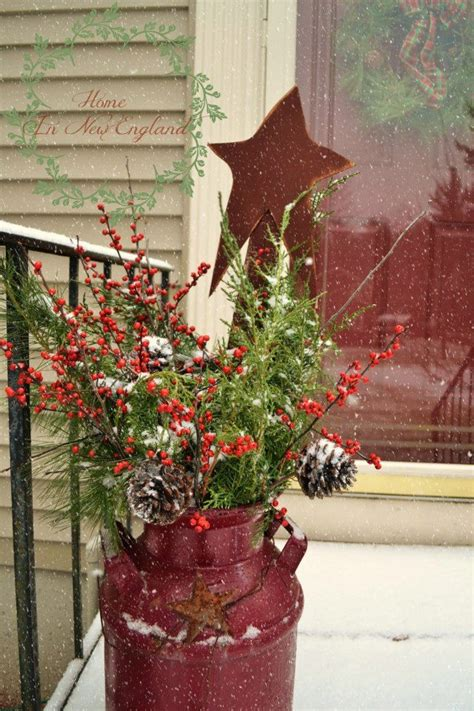rustic christmas decor 40 comfy rustic outdoor christmas d 233 cor ideas digsdigs