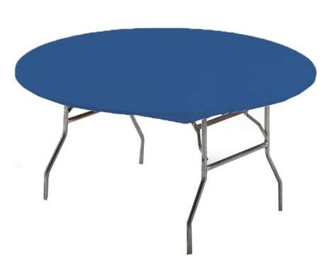 creative converting round stay put plastic table cover 60