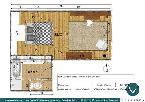 dressing chambre parentale plan chambre parentale avec salle de bain maison design