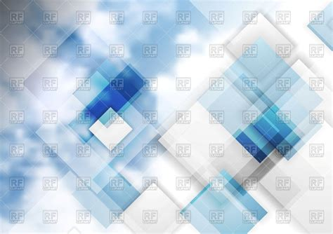 Image With Transparent Background Abstract Tech Bright Background With Transparent Squares