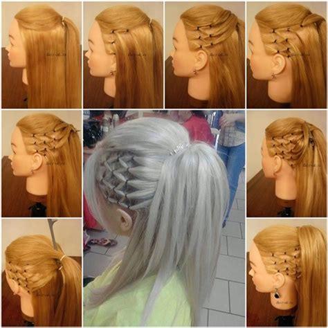 wonderful diy stylish high ponytail with side