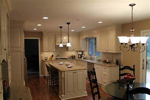 Size for can lights in kitchen