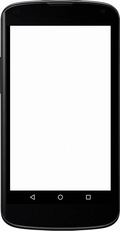 Clipart Screen Iphone Phone Display Transparent Cell