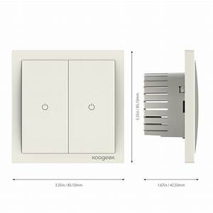 Two Gang Smart Light Switch