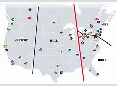 The NHL Realignment Project NHL Realignment Maps The