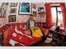 Modern Arsenal Bedroom Decorations Theme For Boys
