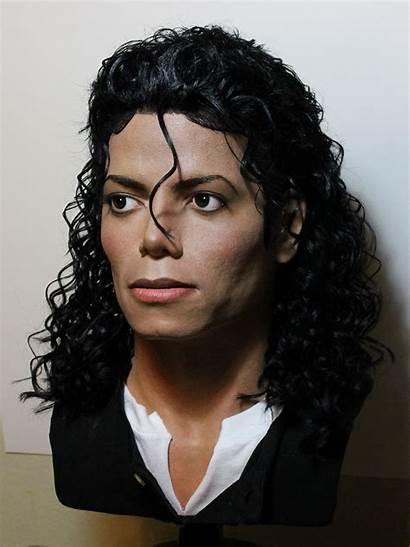 Jackson Michael Bad Era Moonwalker Bust Lifesize