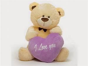 Free Download HD Wallpapers: Cute Teddy Bear Love HD ...